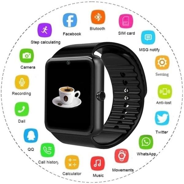 Apple, Clock, wristwatch, Iphone 4
