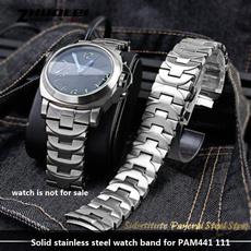 butterfly, Steel, Smycken, solidstainlesssteelwatchbandfor