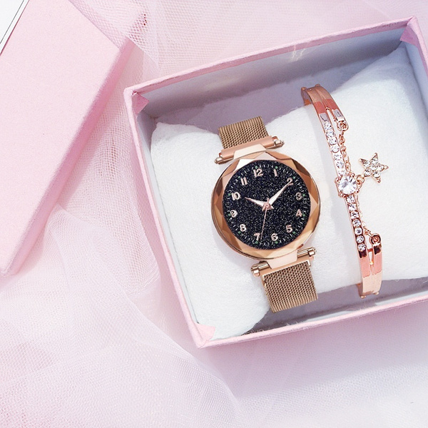 starryskywatch, Waterproof, quartz watch, magneticwatch