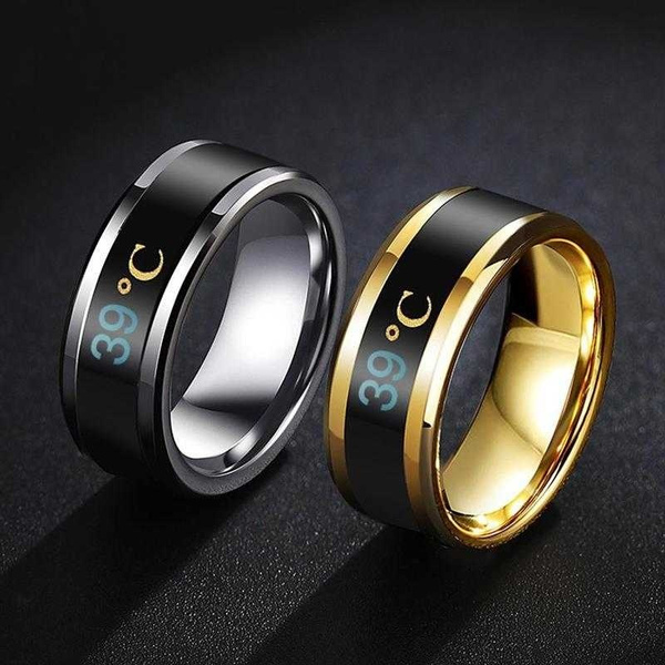 Couple Rings, Steel, Fashion, smartring