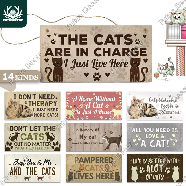 catsign, catgift, Home Decor, Gifts