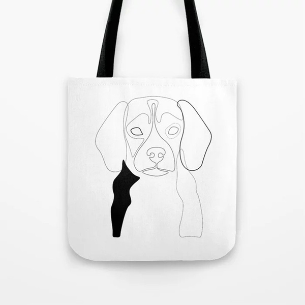 beaglegift, beagletotebag, Canvas, beaglelovergift