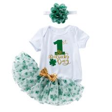 stpatricksdayrompergreen, festivalclothing, tutuskirt, Skirts