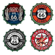 route66, Decor, Vintage, Cap