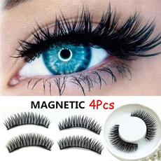 Eyelashes, False Eyelashes, Magnet, Makeup