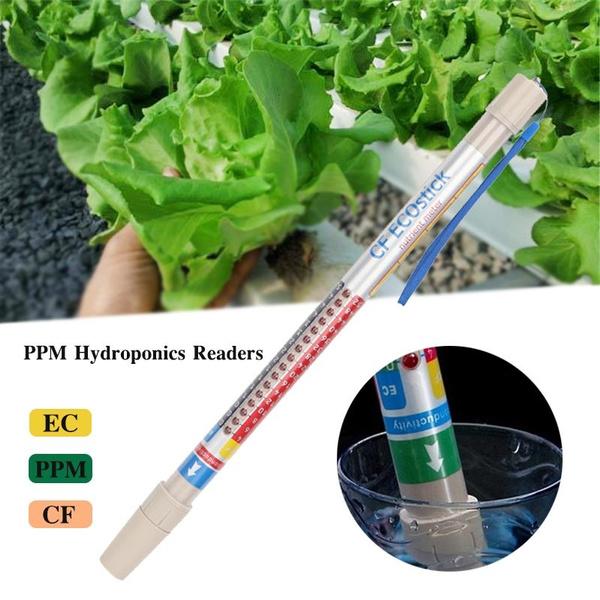 Gardening, wand, hydroponic, conductivitytester
