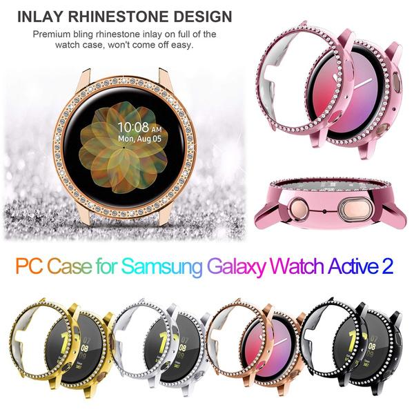 diamondwatchcase, DIAMOND, galaxywatchactive2case, Watch