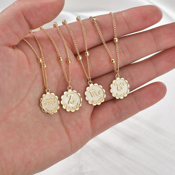 golden, chainsnecklace, lover gifts, Necklaces Pendants