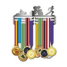 Steel, runnermedalhanger, medalholder, medalhanger