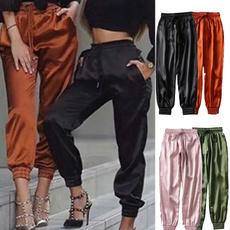 Fitness, trousers, high waist, pants