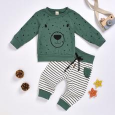 kids, clothesset, kidsbearsweatshirt, pants