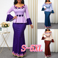 printeddres, Sleeve, highwaistdres, plus size dress