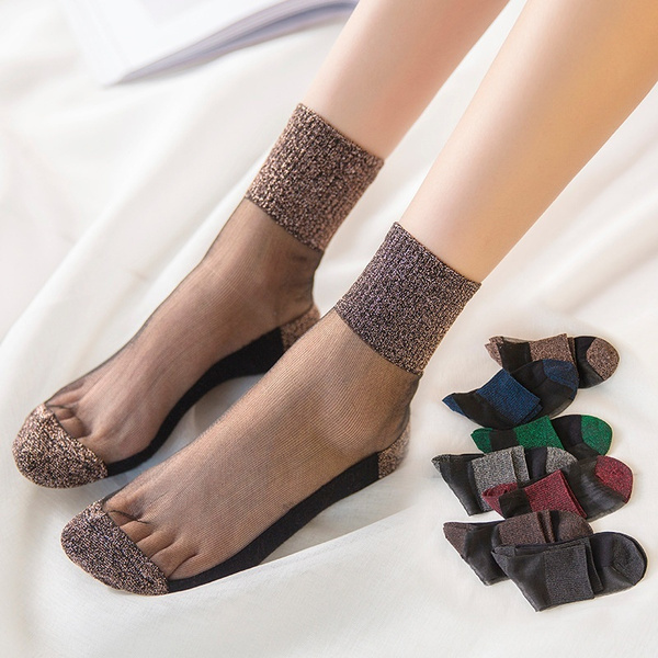 non-slip, Women, crystalsock, Socks