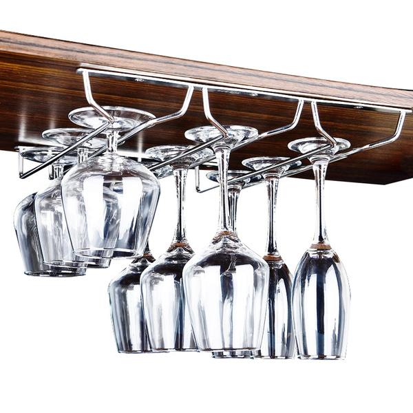 Steel, Stainless Steel, wineglassrack, Shelf