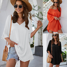 blouse, Loose, hedging, Sleeve