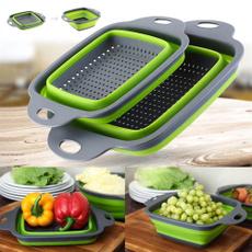 siliconestrainer, fruitvegetablestrainer, Silicone, kitchenbasket