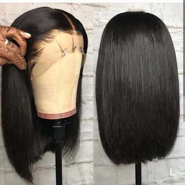 wig, bobhumanhairwig, Shorts, Lace