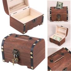 Antique, Storage Box, piggybank, Vintage