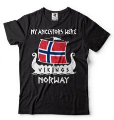 viking, Fashion, Cotton, Shirt