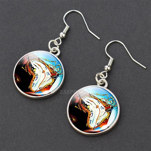 salvadordali, Dangle Earring, earrring, Jewelry