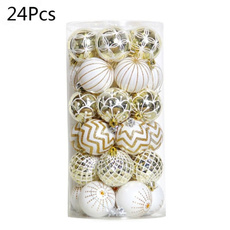 White Gold, party, xmaspartyhangingball, Christmas