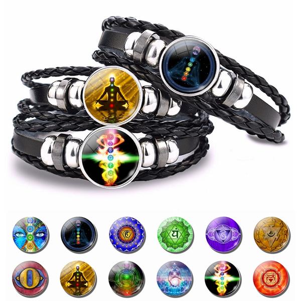 black bracelet, magicbracelet, Men, Yoga