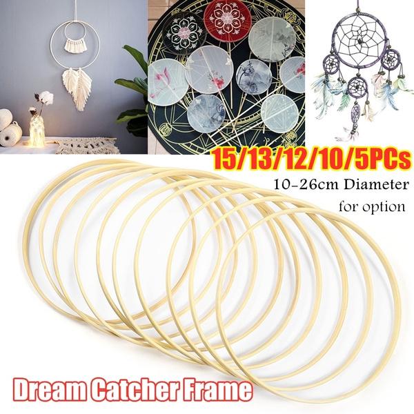 bamboohoop, Home Decor, Dreamcatcher, Frame