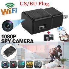 motiondetection, Mini, digitalvideorecorder, usbchargercamera
