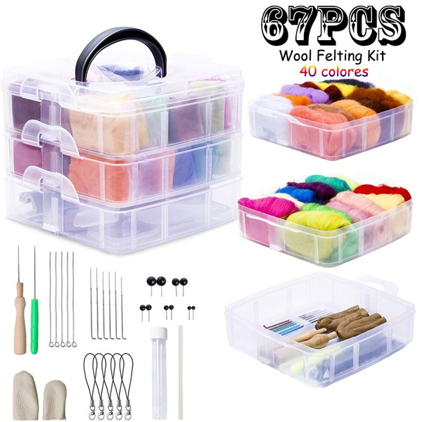 Storage Box, Box, Knitting, feltproduct
