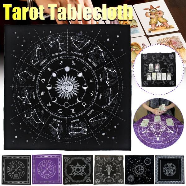 tarotcloth, Star, blackcloth, tarotcardanddiviner