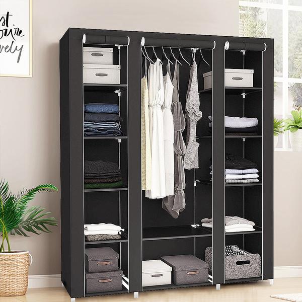 Closet, clothesrack, shelve, Storage