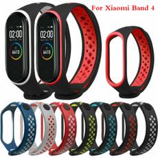 Wristbands, xiaomimiband3, siliconestrap, xiaomiband4strap