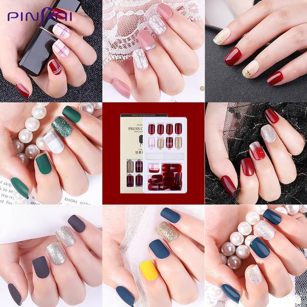 ballerina, nail stickers, nail tips, pressonnail