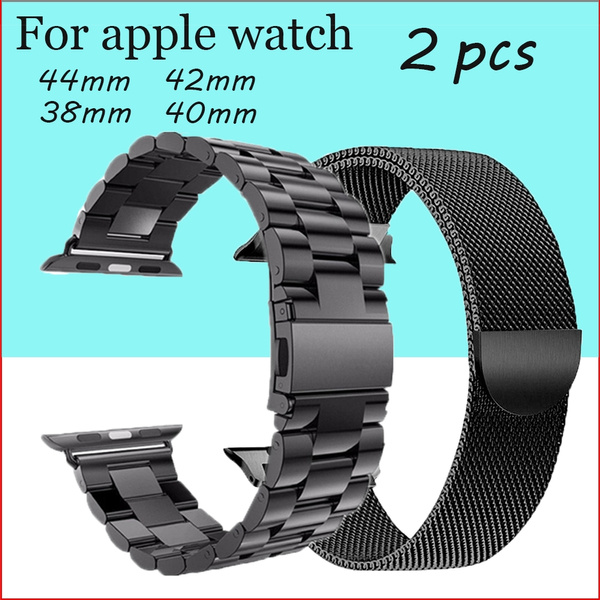 strapforapplewatch, metalmagneticbuckle, Stainless Steel, Apple