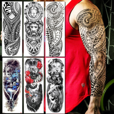 tattoo, art, Animal, Sleeve