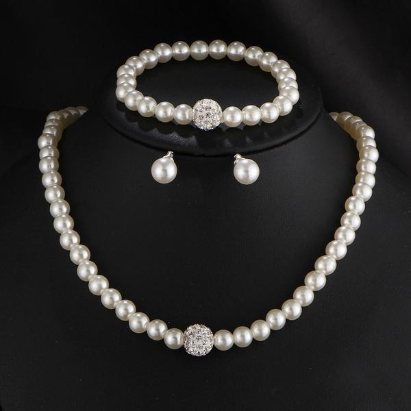 party, bridejewelry, Fashion, Pearl Bracelet