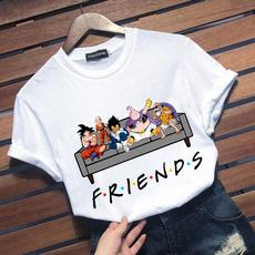 Summer, Plus Size, dragonballztshirt, camiseta