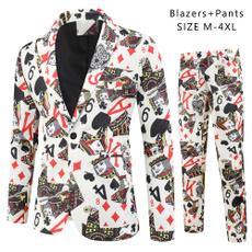 Poker, Fashion, Blazer, Vintage