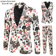 Jacket, menblazerslimfit, Men, Spring