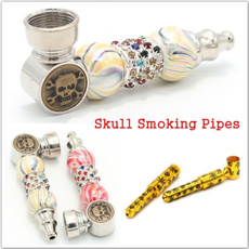 Box, tobacco, skull, smokingpipe