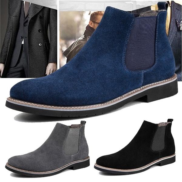 Britain Style Vintage Men Chelsea Boots