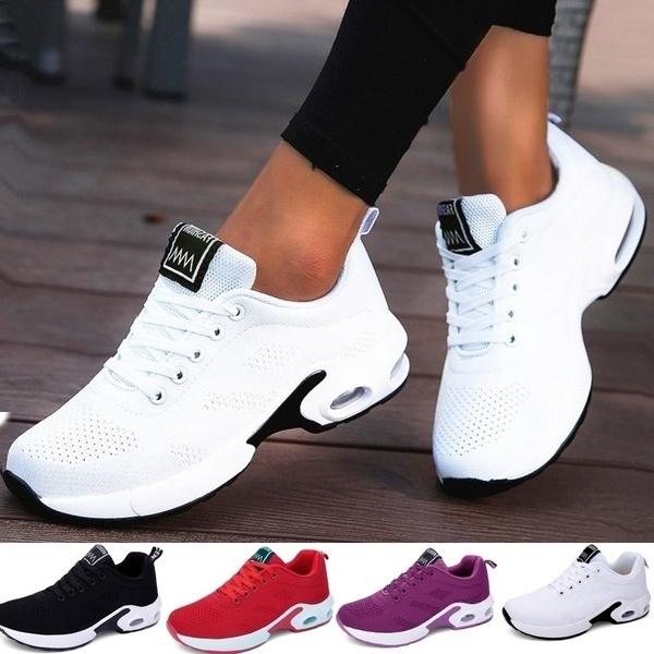 Women Mesh Shoes Sports Tennis Shoes