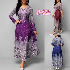 slim dress, printeddres, Necks, beautiful dress