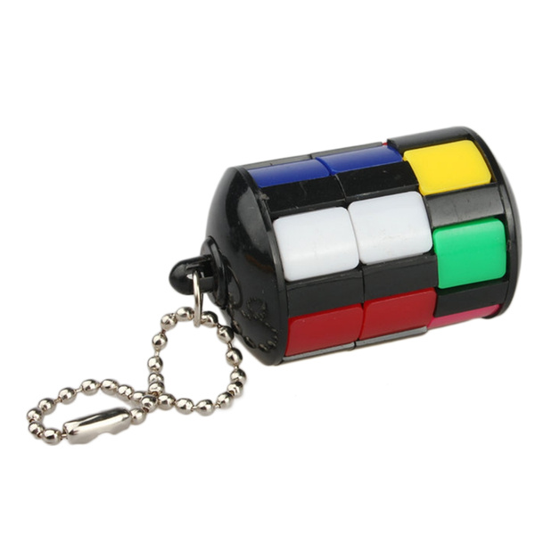 Educational, cube, Key Chain, Colorful