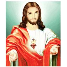 5ddiamondembroidery, DIAMOND, Decoración de hogar, jesus