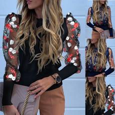 blouse, womenblousesplussize, Fashion, Lace