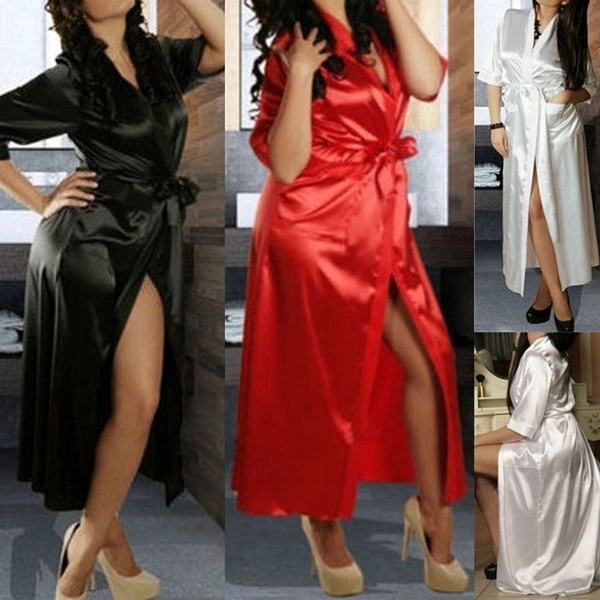 transparentgauze, dressandbelt, Lace, sexy pajamas