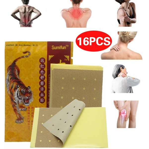 Muscle, Chinese, painplaster, tigerbalm