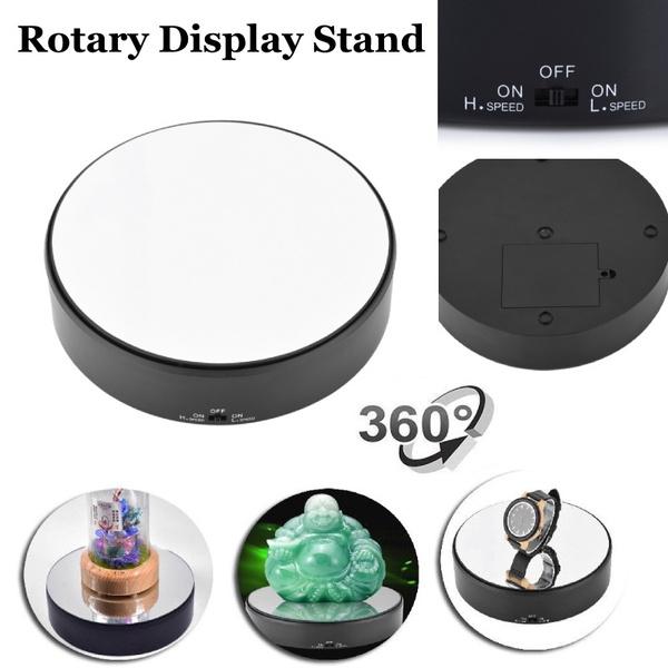 turntabledisplay, Home Decor, rotatingdisplayholder, Battery