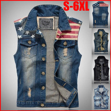 jeansvestmen, jeansvest, Plus Size, denimwaistcoat